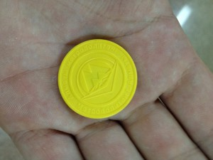 Token used for the Almaty Metro