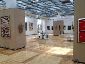 A Kasteev Art Museum Exhibit