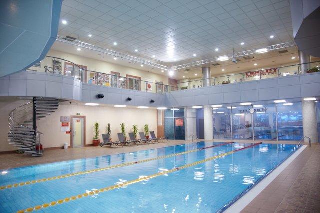 Fidelity fitness club samal almaty kazakhstan for Fitness club with swimming pool
