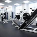 Gym at Fidelity Fitness Club (Bukhar Zhyrau)