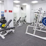 Gym at Fidelity Fitness Club (Nurly Tau)