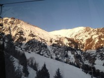 Shymbulak Ski Resort in Winter