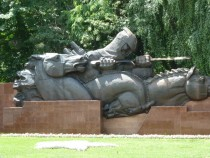 Monument in Panfilov Park