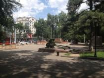 Panfilov Park in Almaty