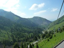 Shymbulak Ski Resort in Summer