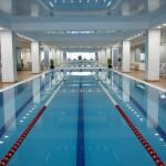 swimming pool at Fidelity Fitness Club (Bukhar Zhyrau)