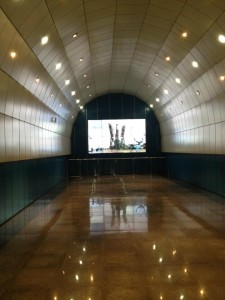 Film of Rocket launch inside Baikonur metro station in almaty