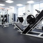 Gym at Fidelity Fitness Club (Bukhar Zhyrau)