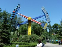 Fun park in Gorky Park