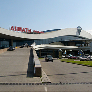 Almaty International Airport in Almaty