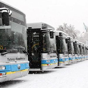 Buses and Trolleybuses in Almaty
